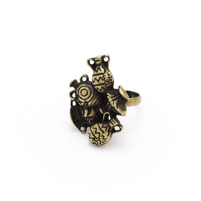 Кольцо Амфора, бронза