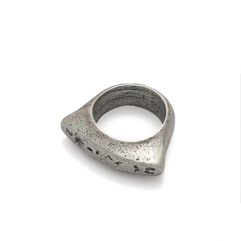 Кольцо цельнолитое Тео (17 размер)