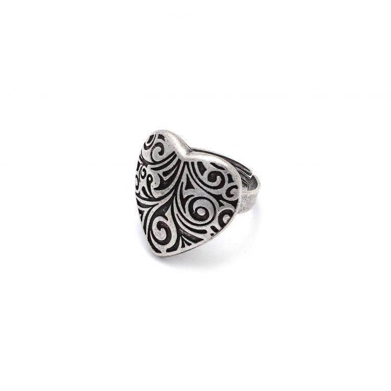 Кольцо Сердце малое