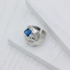 Кольцо Метеоры цвет аквамарин 17,5 р