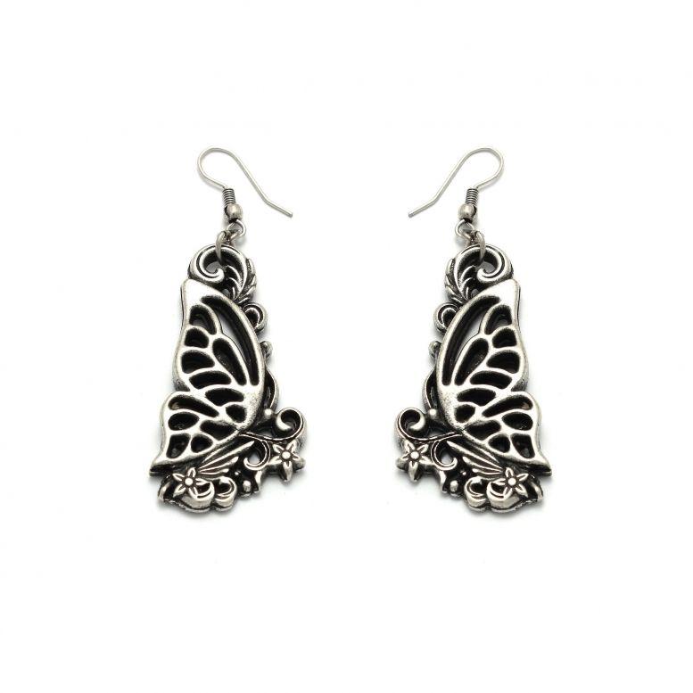 Серьги Танец бабочек