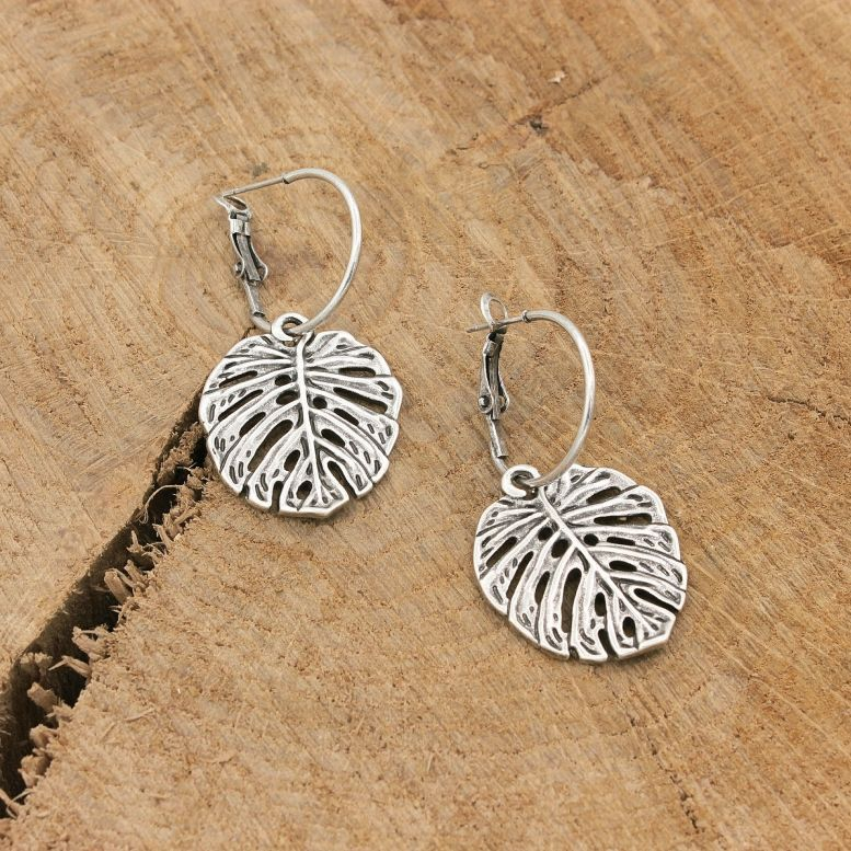 Сережки Тропіки срібло