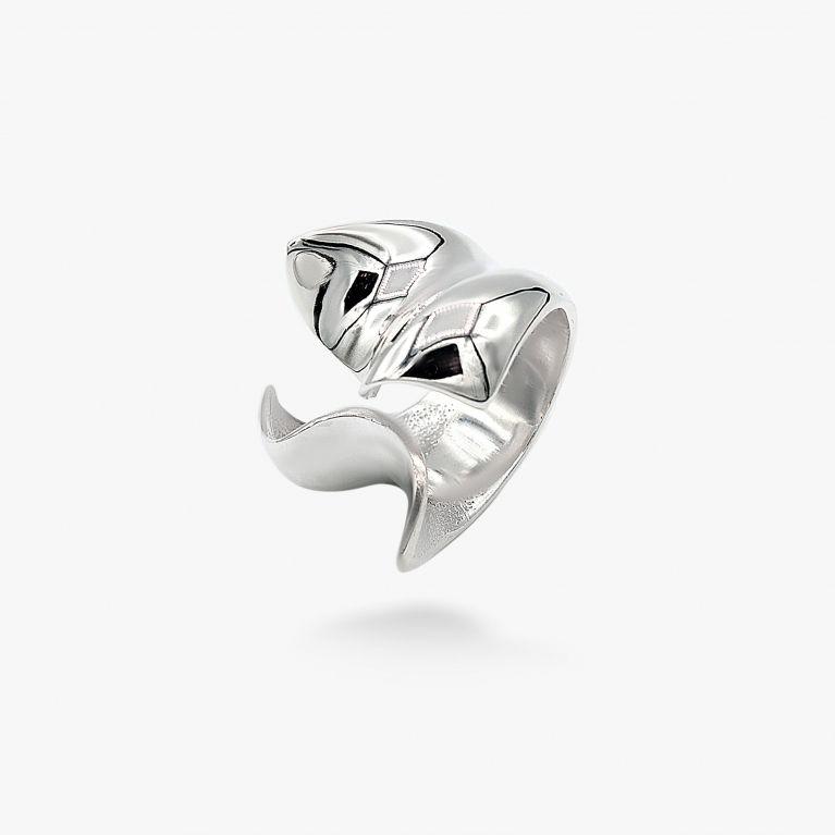 Кольцо Цунами 925