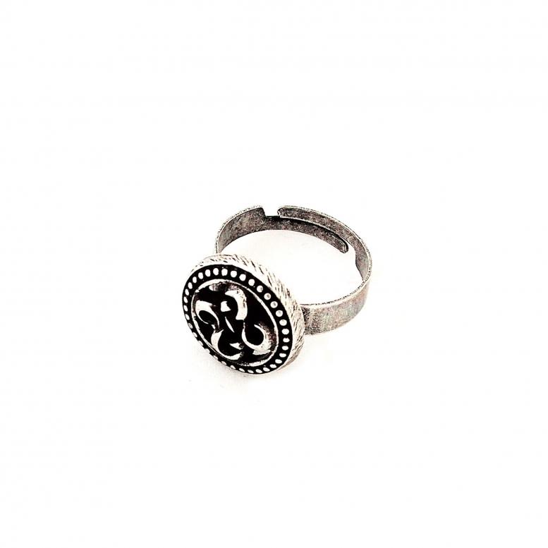 Кольцо Византийский цветок