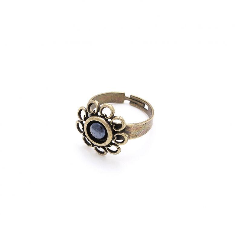 Кольцо Романия Этюд (гематит, бронза)
