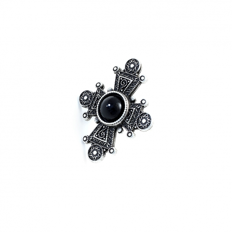 Кольцо Таксис серебро (агат)