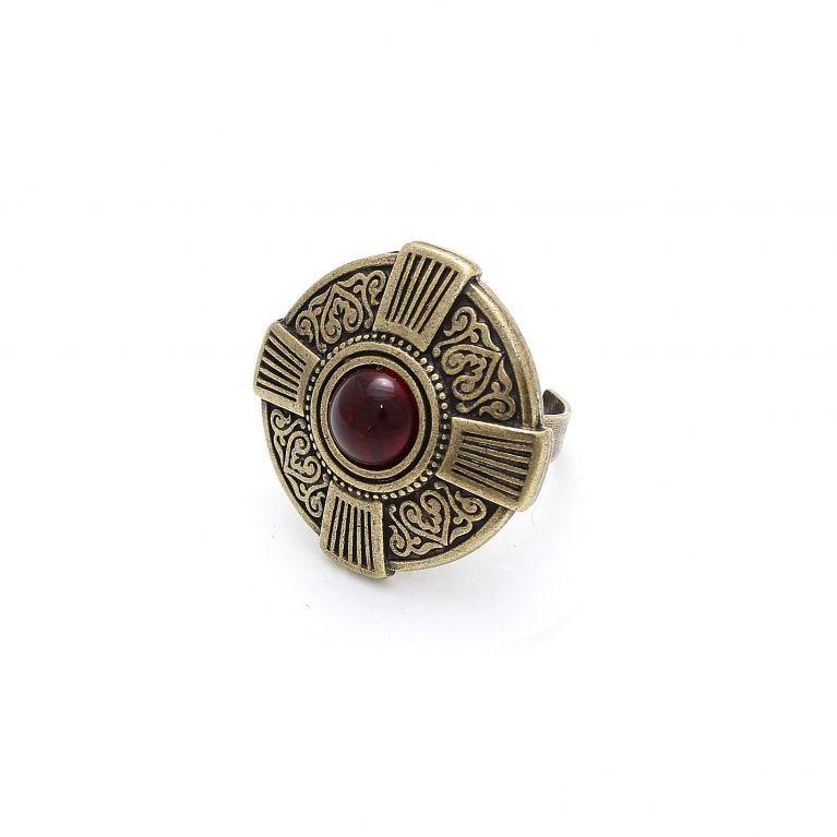 Кольцо Харизма рубин бронза