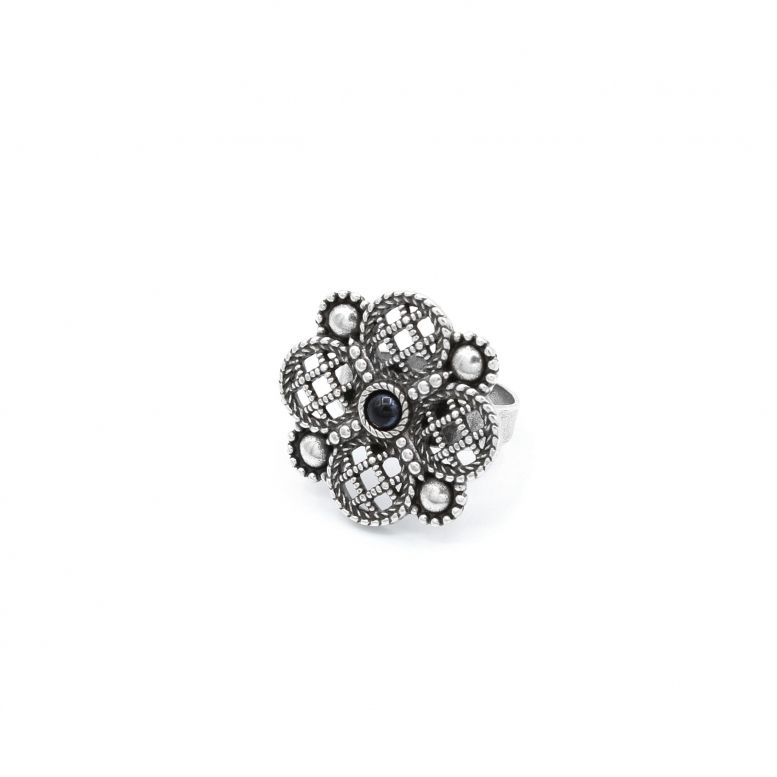 Кольцо Византийская принцесса гематит