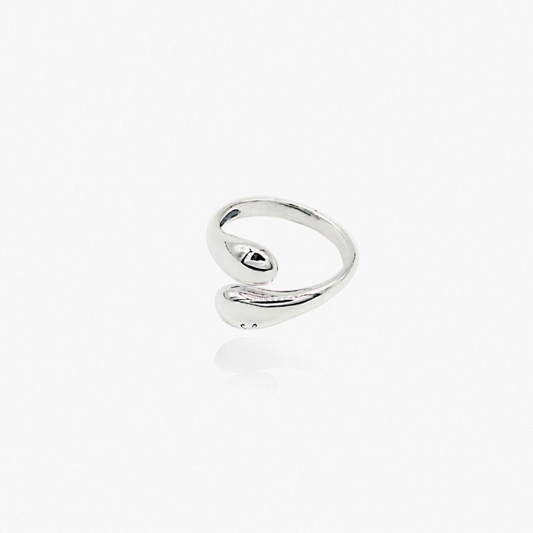 Кольцо Капли разъемное 925