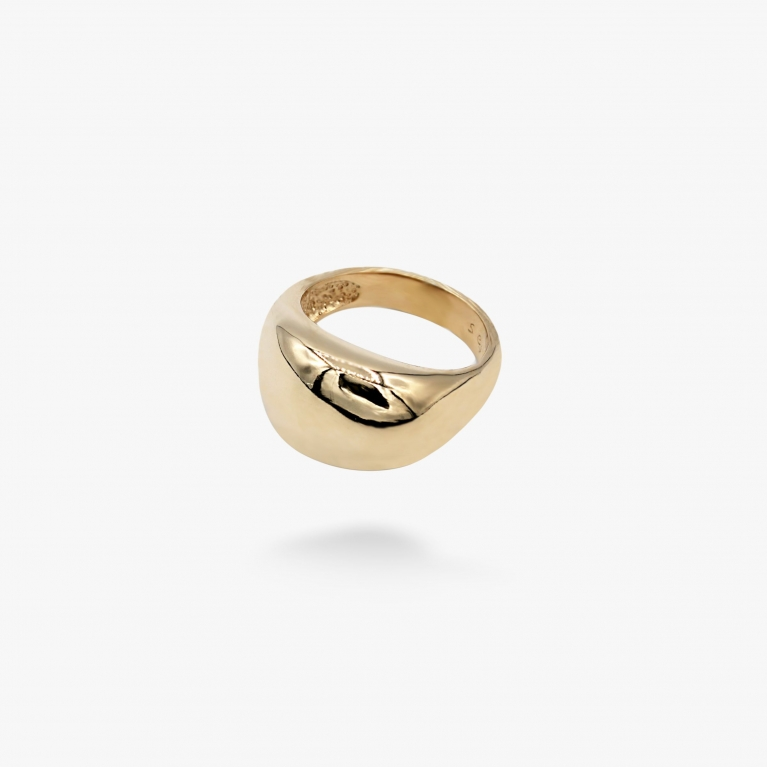 Кольцо Капля gold 925