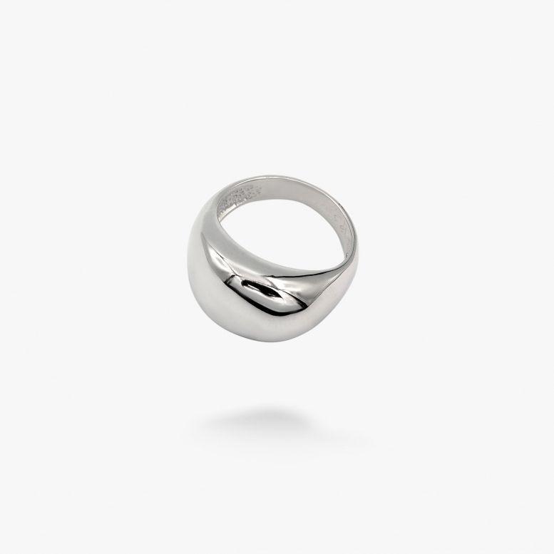 Кольцо Капля rhodium 925