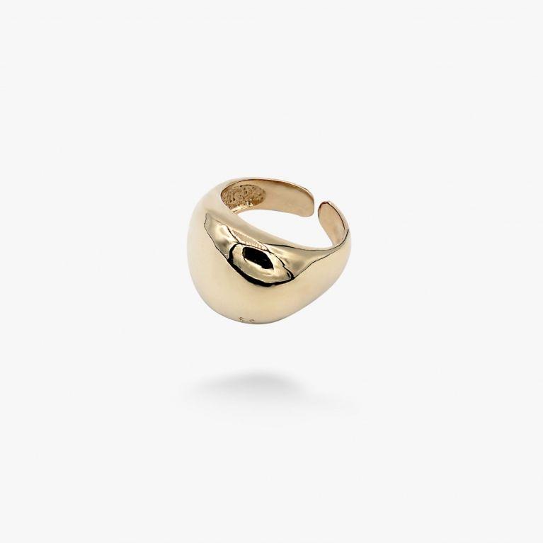 Кольцо Капля gold разъмное 925