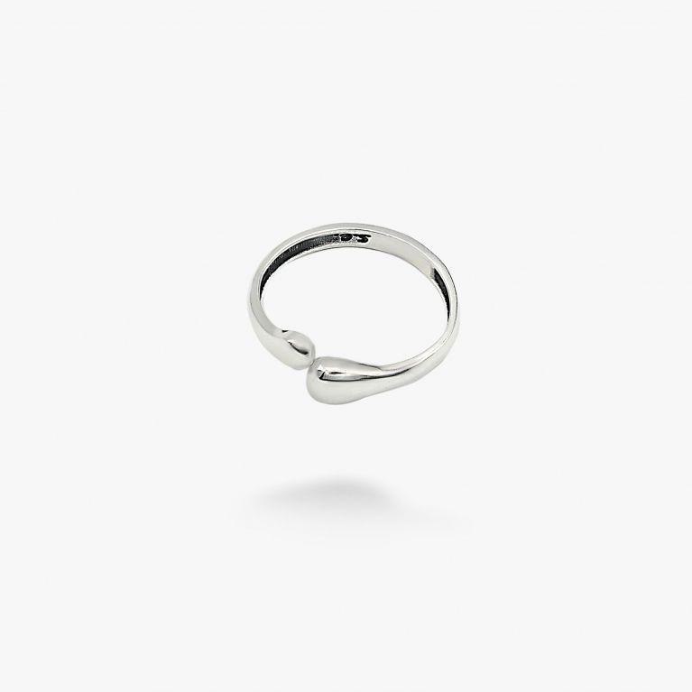 Кольцо Капли mini 925