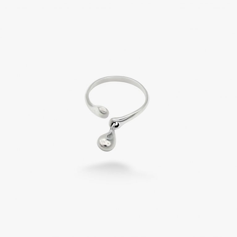Кольцо Невесомая капелька 925