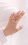 Кольцо Белое перо 925