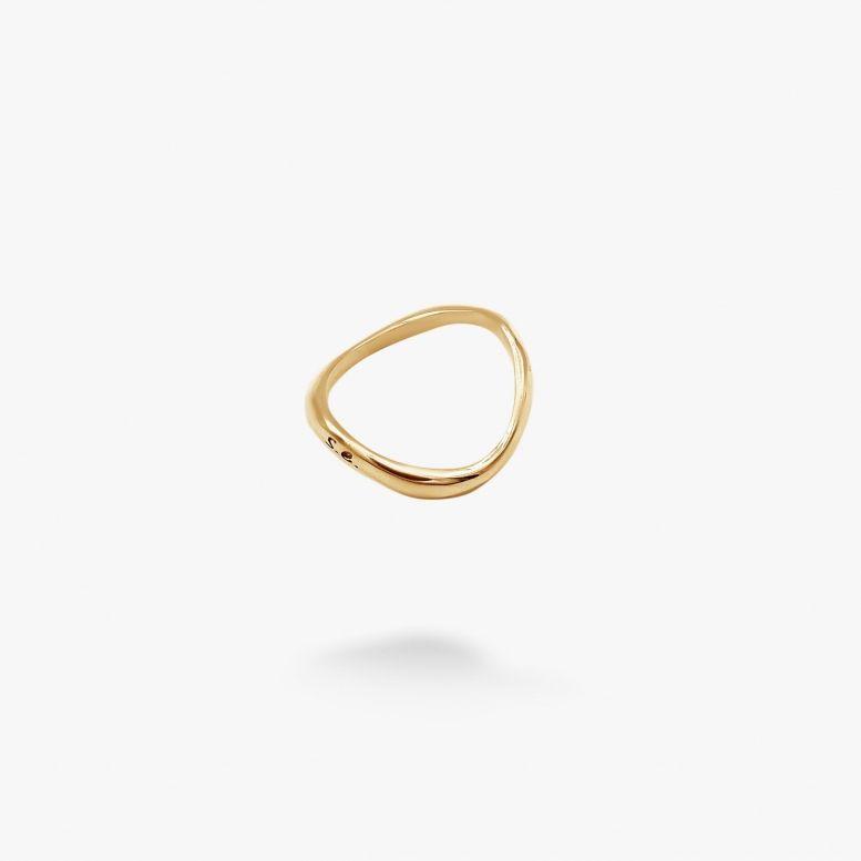 Кольцо Материя gold 925