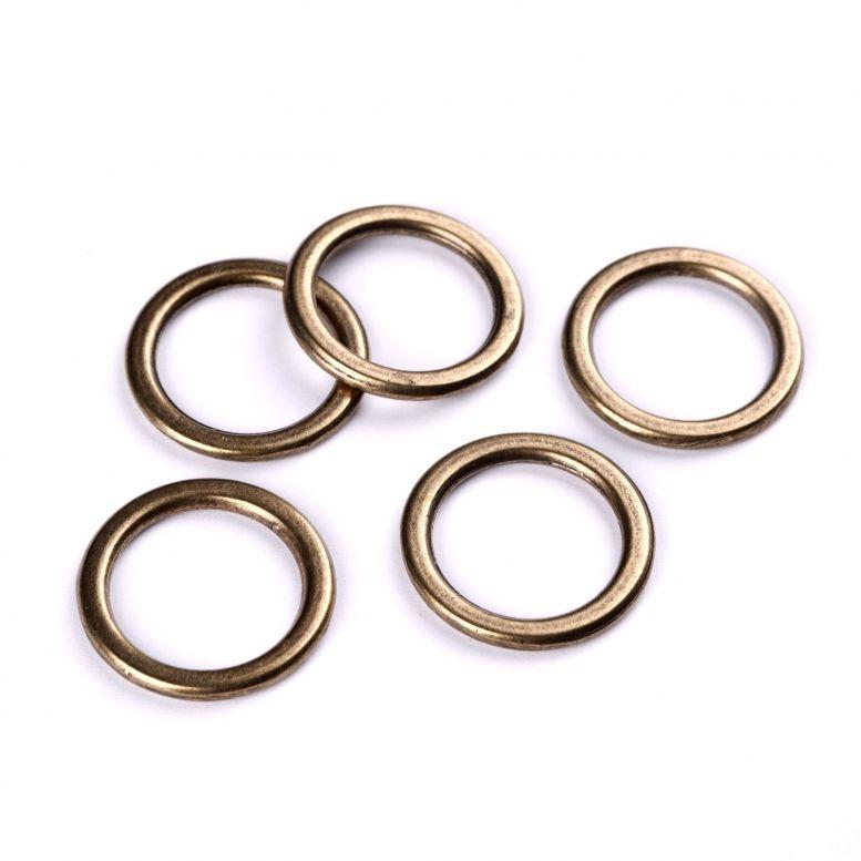 Коннектор Кольцо, 31 мм, 5 шт (бронза)