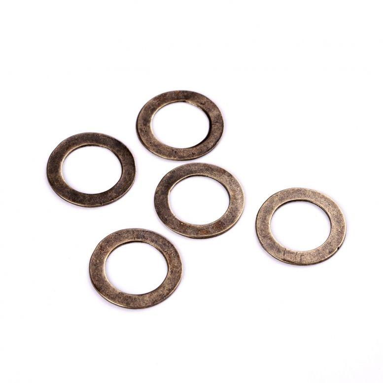 Коннектор Кольцо 27 мм, 5 шт (бронза)