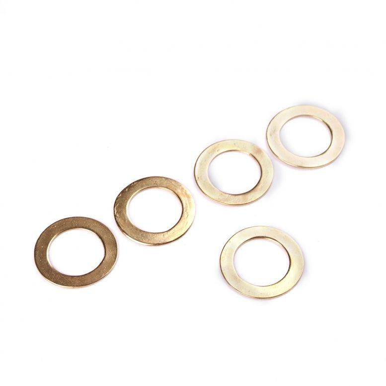 Коннектор Кольцо 27 мм, 5 шт (золото)