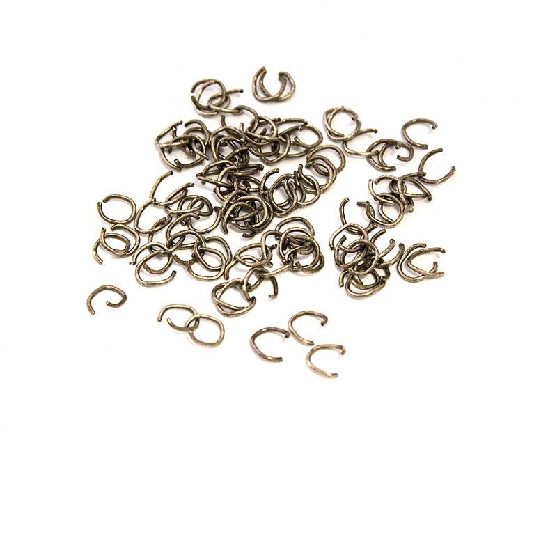 Соединительное звено  (серебро) 100 шт