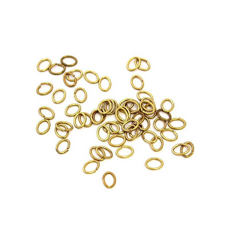 Соединительное звено  (золото) 100 шт